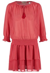 Maison Scotch Summer Dress Red