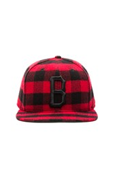 Black Scale It Was All A Dream Strapback Red