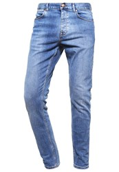 Dr. Denim Dr.Denim Clark Slim Fit Jeans 70'S Stone Stone Blue Denim