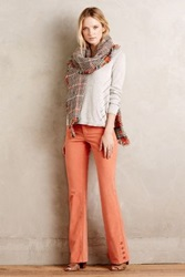 Anthropologie Pilcro Stet Corduroy Flares Peach 30 Pants