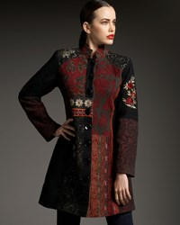 Indikka Patchwork Brocade Jacket Women's