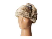 Woolrich Wool Aviator With Faux Fur Lining And Earflaps Blue Caps