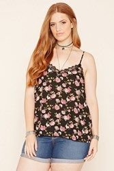 Forever 21 Plus Size Floral Print Cami