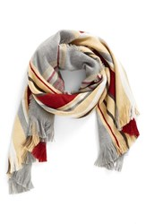 Women's Bp. Stripe Plaid Scarf