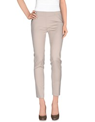 Space Style Concept Trousers Casual Trousers Women Beige