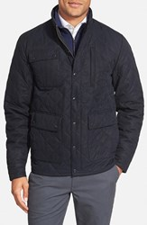 Men's Bonobos 'Banff' Quilted Jacket Navy