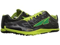 Altra Footwear Golden Spike Lime Black Athletic Shoes Green