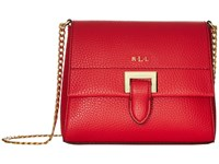 Lauren Ralph Lauren Carslisle Abree Mini Chain Crossbody Red Cross Body Handbags