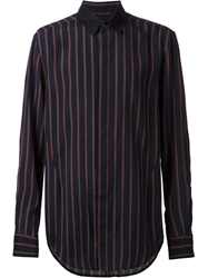 3.1 Phillip Lim Striped Shirt Blue