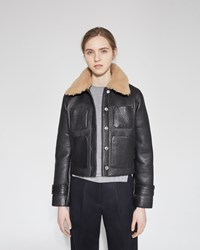 Acne Studios Felipa Leather Jacket