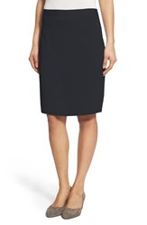Women's Eileen Fisher Silk And Organic Cotton Knit Pencil Skirt