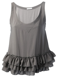 Societe Anonyme Loose Fit Tank Top Grey