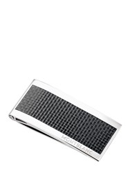 Montblanc Stainless Steel And Carbon Money Clip