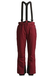 Killtec Homa Waterproof Trousers Weinrot Dark Red