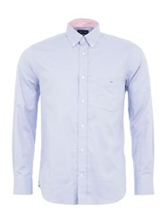 Eden Park Basic Plain Shirt Blue