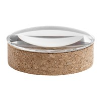 Hay Lens Storage Box Glass And Cork Medium