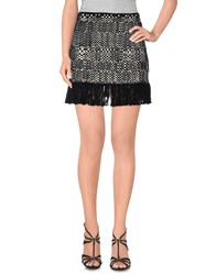 Terre Alte Skirts Mini Skirts Women Black