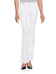 7 For All Mankind Iconic Bootcut Jeans White