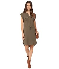 Only Vertigo Short Dress Tarmac Women's Dress Olive