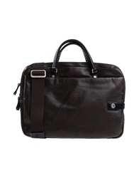 A.G. Spalding And Bros. 520 Fifth Avenue New York Handbags Dark Brown
