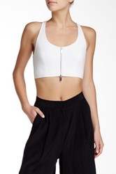 Elizabeth And James Harlow Racerback Tank White