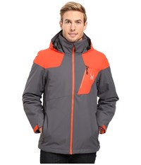Spyder Lynk 3 In 1 Jacket Polar Rage Black Men's Coat