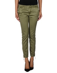 Juicy Couture Casual Pants Military Green