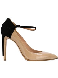 Maison Martin Margiela Maison Margiela Colour Block Pumps Nude And Neutrals