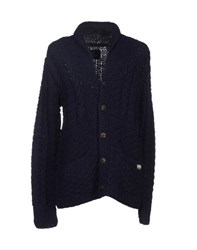 Scotch And Soda Knitwear Cardigans Men Dark Blue