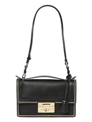 Salvatore Ferragamo Aileen Brushed Gold Stitched Leather Bag