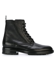 Saint Laurent Classic Military Boots Black