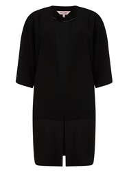 Phase Eight Claud Unstructured Coat Black