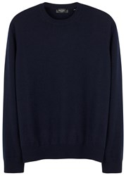 Paul Smith Navy Cashmere Jumper