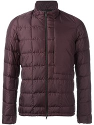 Theory 'Wiles' Padded Jacket Red