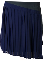 Shades Of Grey Pleated Double Layer Skirt