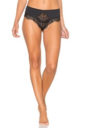 Free People Golden Hour Thong Black