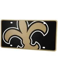 Stockdale New Orleans Saints Printed License Plate Black
