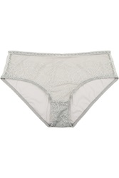Eres Montsouris Notre Dame Chantilly Lace And Tulle Briefs