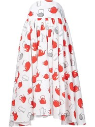 Olympia Le Tan 'Ozu Ozu' Skirt White