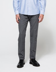 Shades Of Grey Suit Pant Grey Flannel