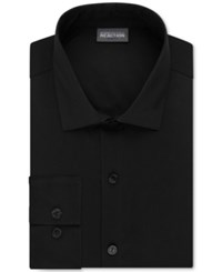 Kenneth Cole Reaction Slim Fit Techni Cole Stretch Solid Dress Shirt