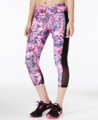 Ideology Printed Capri Leggings Only At Macy's Floral Vibes