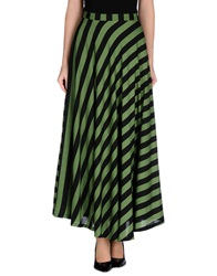 Cutie Long Skirts Green