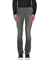 Cnc Costume National C'n'c' Costume National Denim Denim Trousers Men Steel Grey
