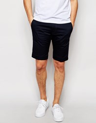Diesel Chino Shorts Chi Pitt Sho Slim Fit In Navy Navy