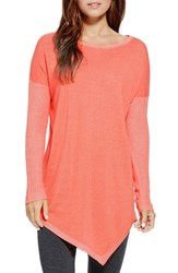 Women's Two By Vince Camuto Plaited Asymmetrical Crewneck Pullover