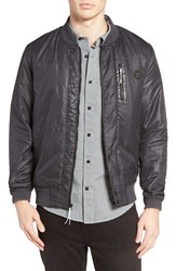 Hurley Men's All City Stealth Bomber Jacket