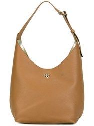 Tory Burch 'Perry Hobo' Shoulder Bag Nude And Neutrals