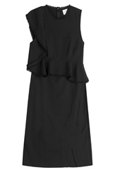 3.1 Phillip Lim Cocktail Dress With Ruffles Black