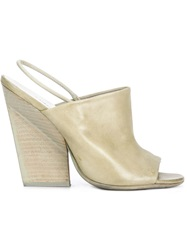 Marsell Marsell Chunky Heel Sandals Green